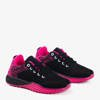 Чорне та рожеве жіноче спортивне взуття Fonto - Взуття 1