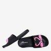 Чорні жіночі шльопанці - Взуття 1